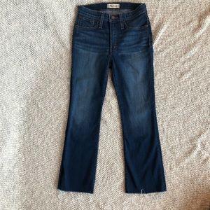 Madewell Jeans - Petite Cali Denim-Boot Jeans in Macro Wash